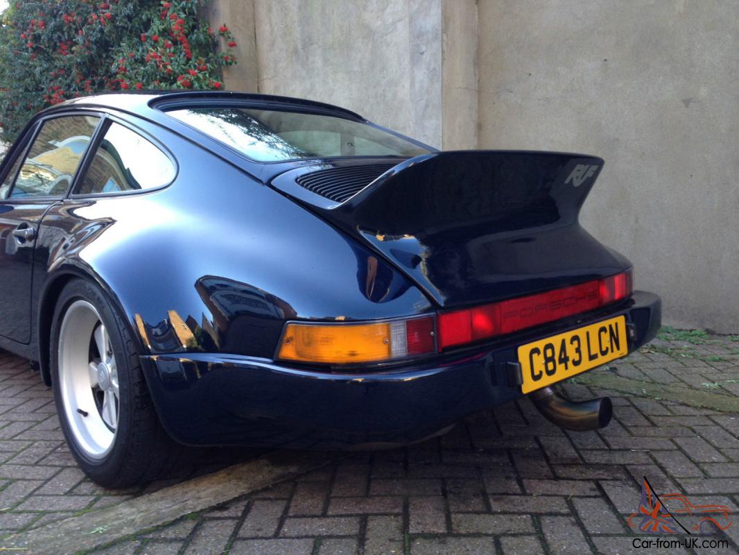 1985 Porsche 911 Turbo 930 Turbo Rsr Look Low Miles A Lot Done No Reserve