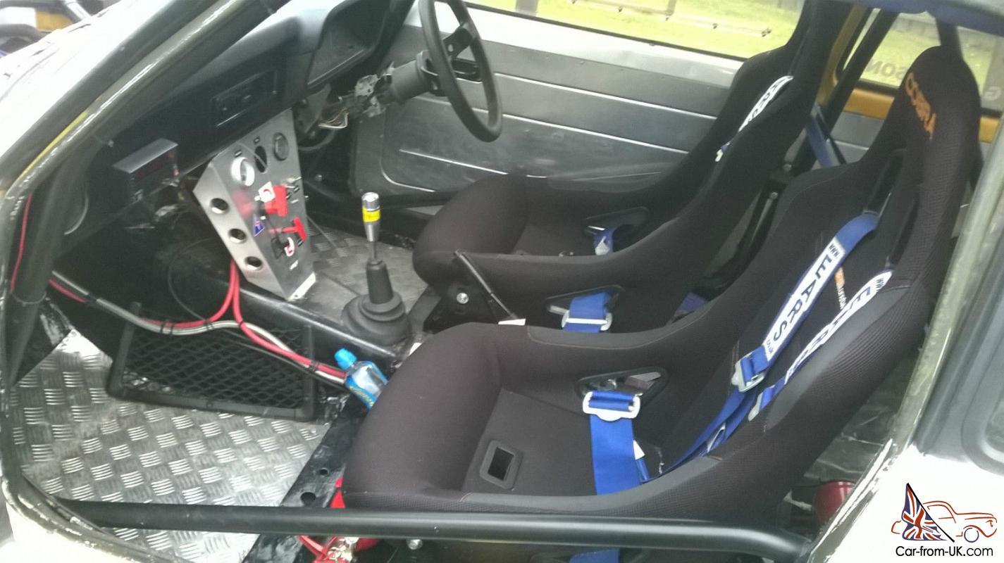 ford escort mk  pinto rally car