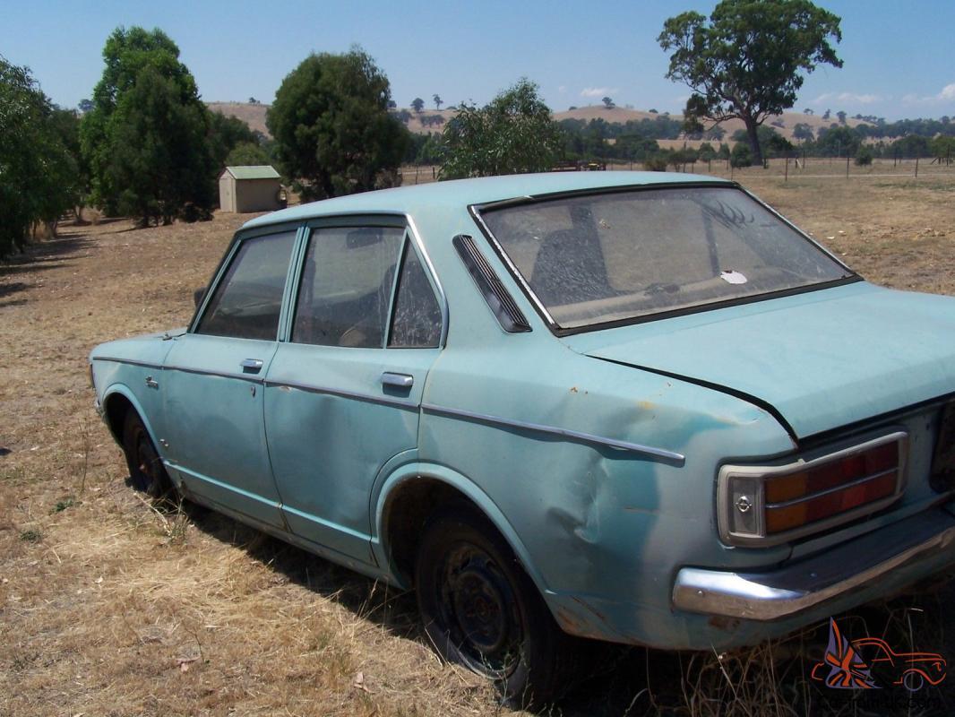 Toyota Corona Mk Ii 1972 4d Sedan 4 Sp Manual 2l Carb In