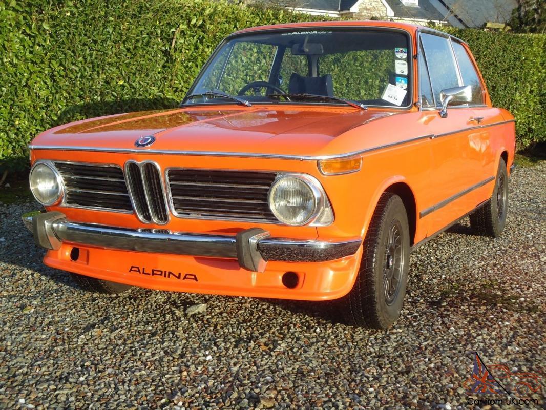 1972 Bmw 2002 Tii Inka Orange
