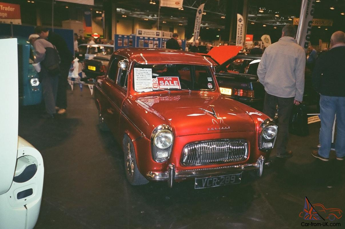 ford prefect   hot rod