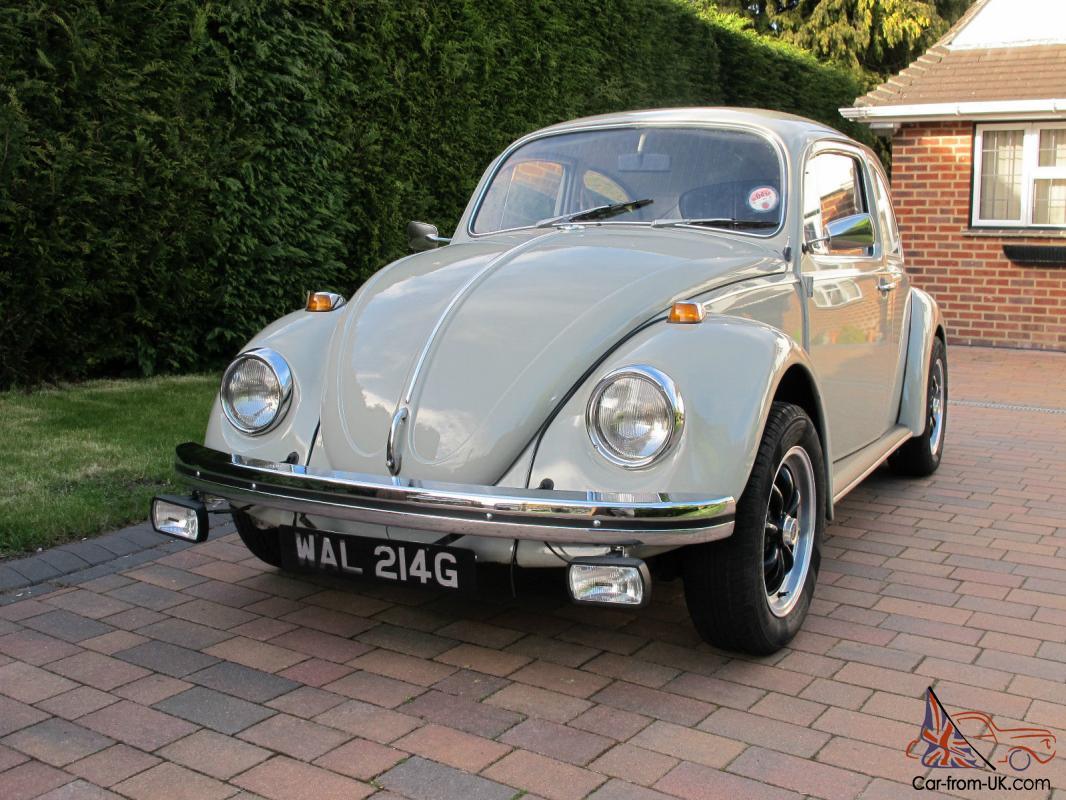 1969 VOLKSWAGEN BEETLE 1500 DELUX CLASSIC CAR