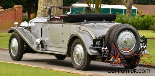 1930 Rolls Royce Phantom II 2 door convertible.