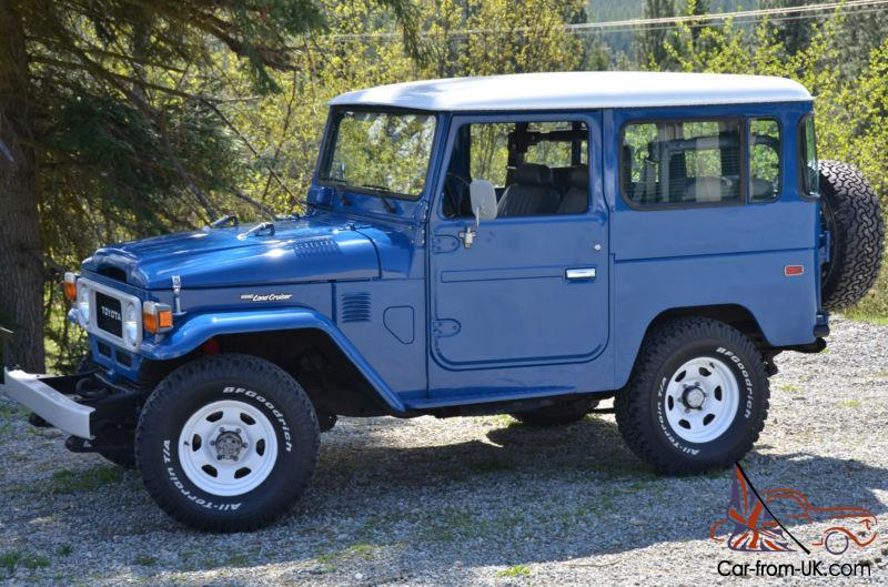 Toyota Fj40 For Sale >> 1981 Toyota Land Cruiser Fj40