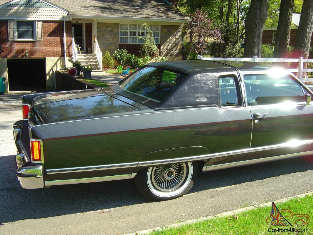 1977 Lincoln Town Coupe All Original Rare Color Combination