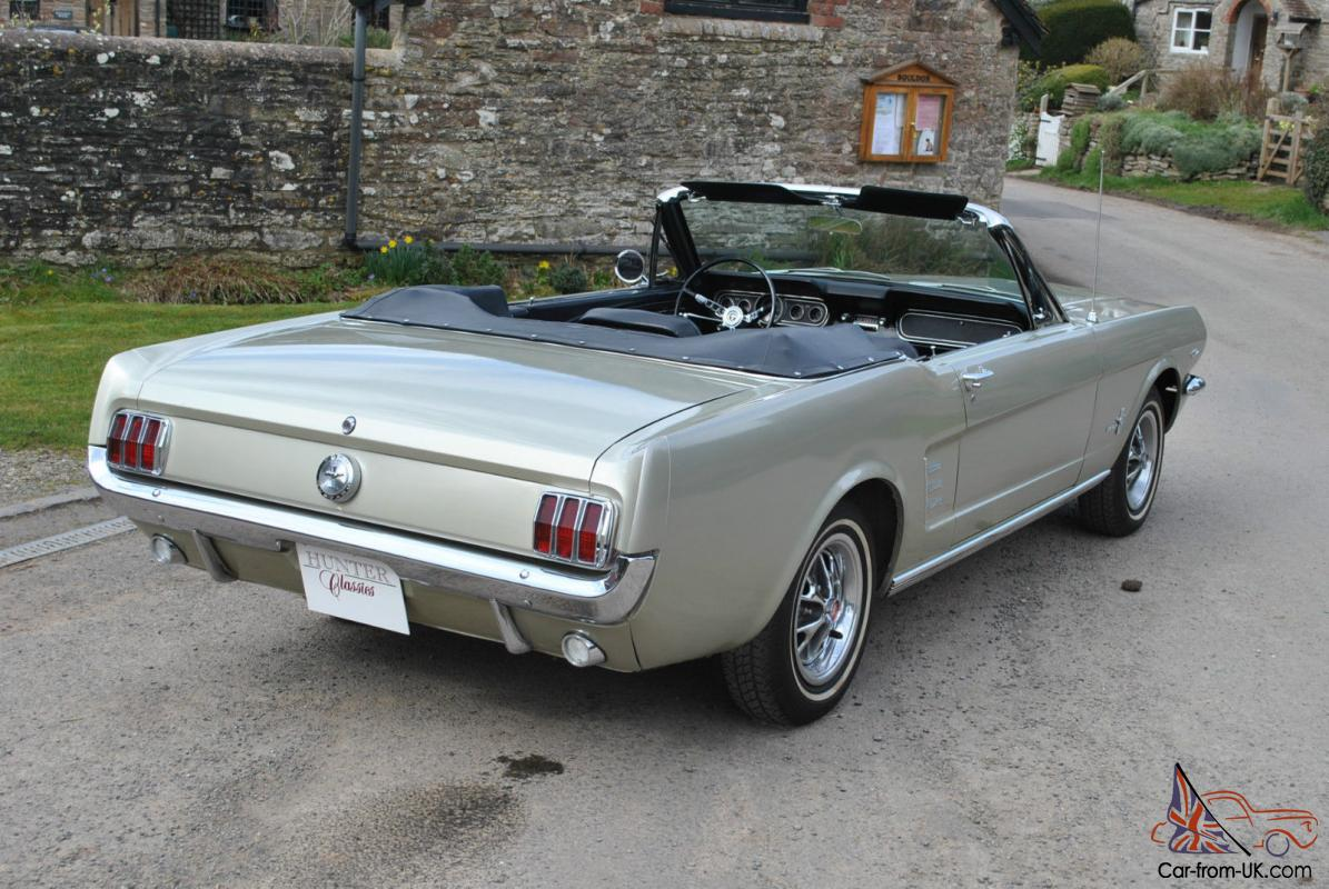 66 ford mustang convertible genuine 72000 miles californian car