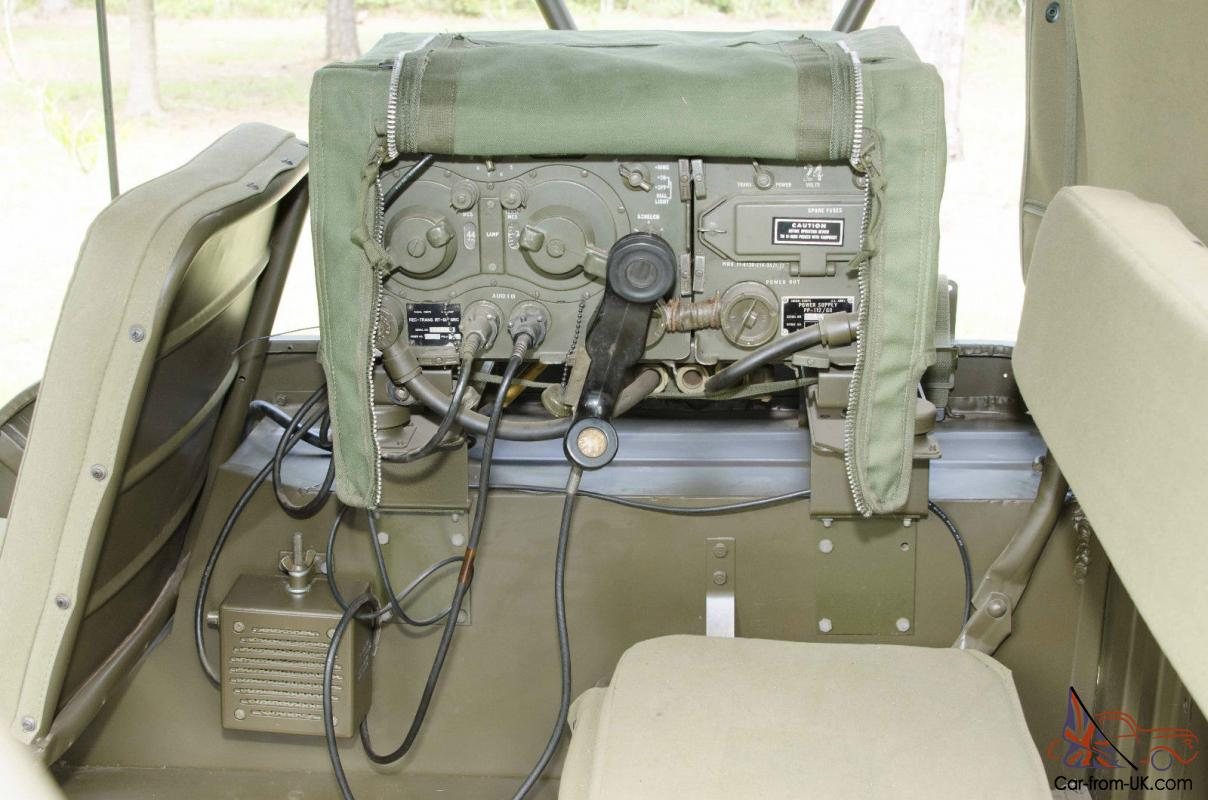 Willys Jeep Military M38 1963 Wiring