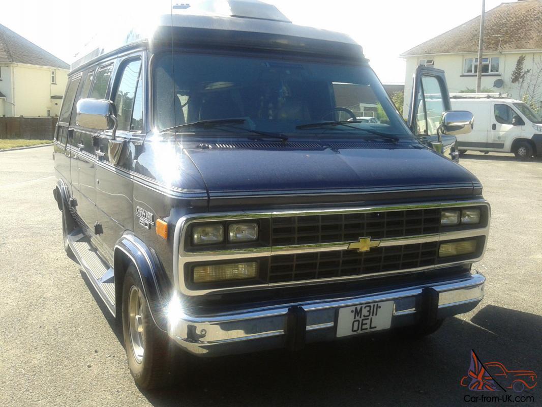 Chevrolet Gmc G 20 Day Van Camper American Classic