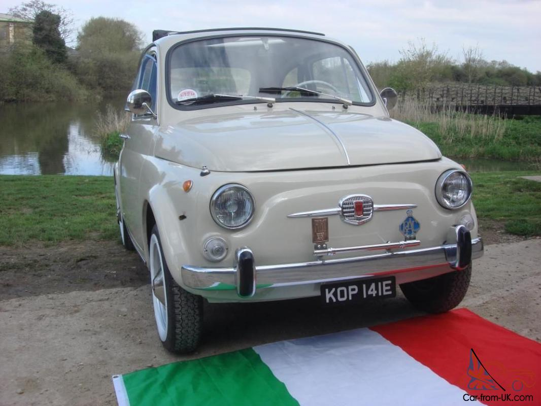 Gorgeous Fiat 500f 1967 Only 14k Miles From New Best Available Sofia