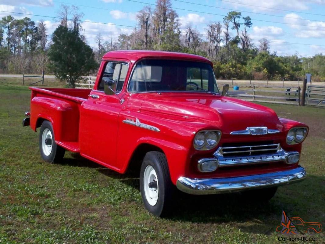Fully Restored 1958 Chevy Truck