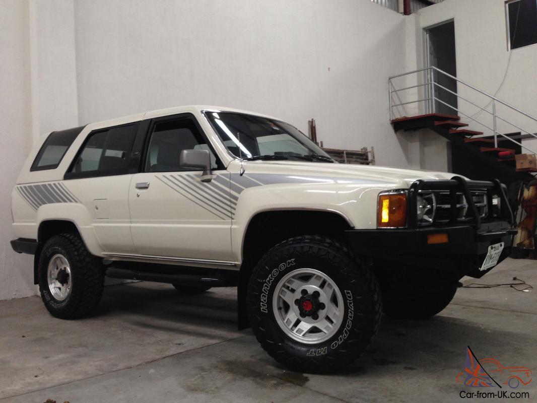 Restored 1987 Toyota 4Runner 4 Cyl Turbo