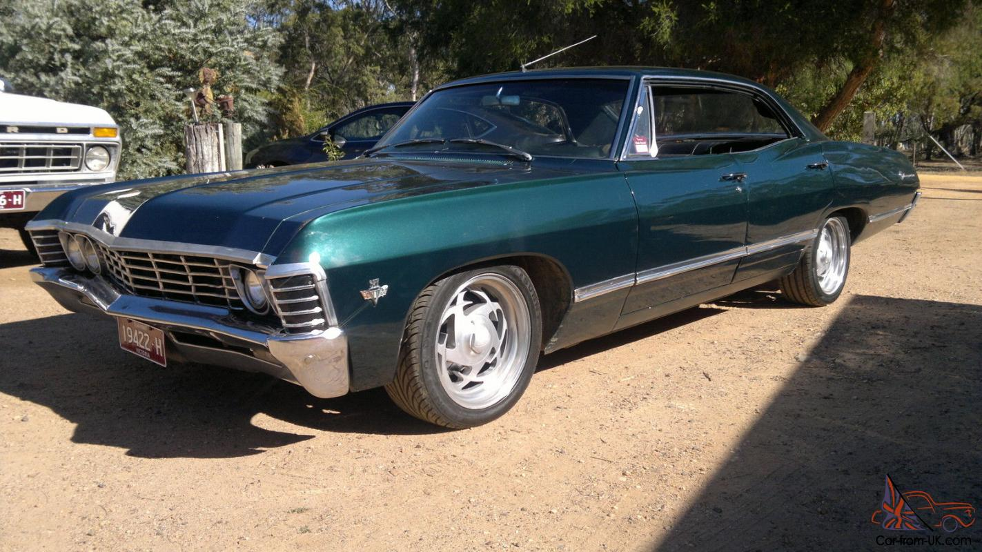 Chev Impala 1967 Pillarless 4 Door Hardtop Bbc 454 Turbo 400 9 Inch Diff Rhd
