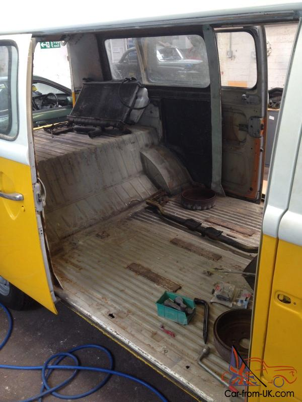 VW T2 Camper Van, Late Bay Window, Subaru Engine Conversion Project