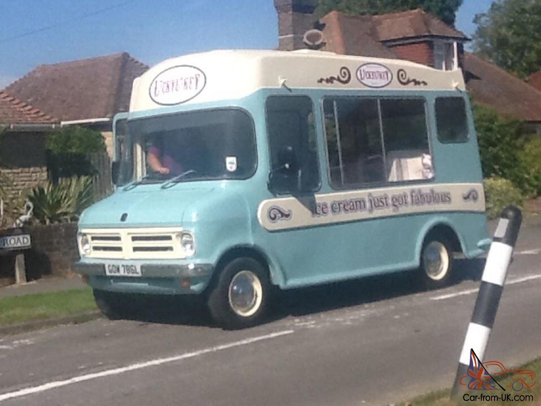 Ice Cream Truck For Sale >> Classic Bedford Cf Morrisons Ice Cream Van