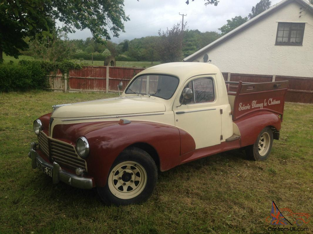 1954 Peugeot 203 Pick Up View Short Video To Appreciate This Lovely Classic