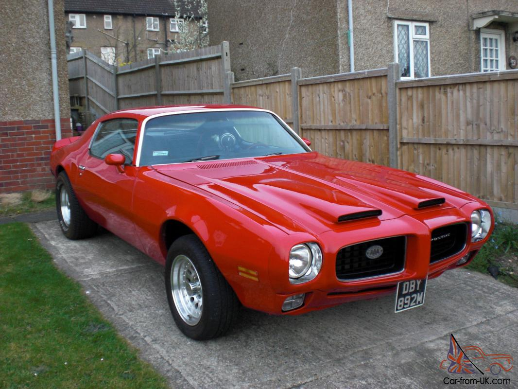 1974 PONTIAC FIREBIRD FOR SALE AS JUST PURCHASED A '68 ...