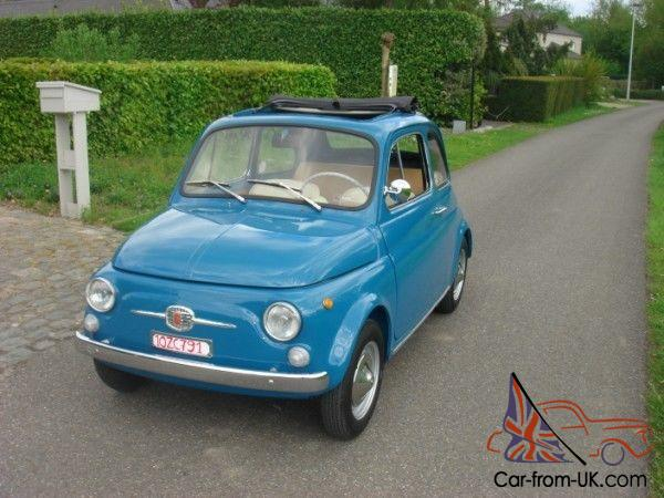 1966 Fiat 500 Nuova First Registered 19 January 1967 In Italy