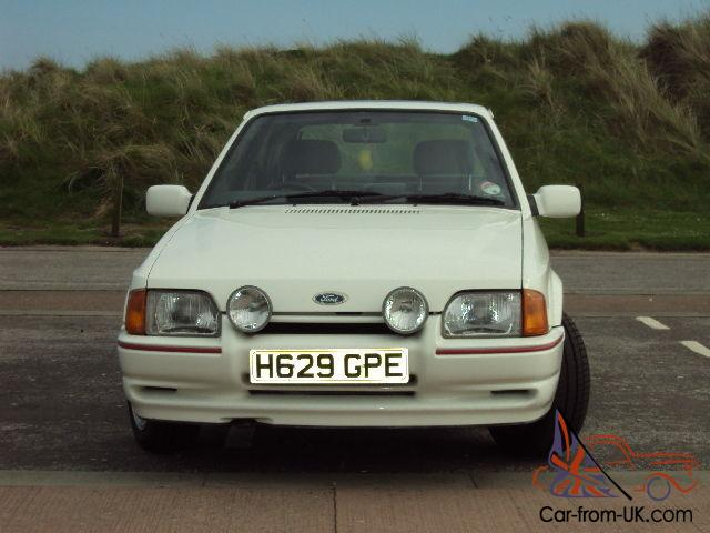 Ford Escort Mk4 Xr3i In Pristine Condition