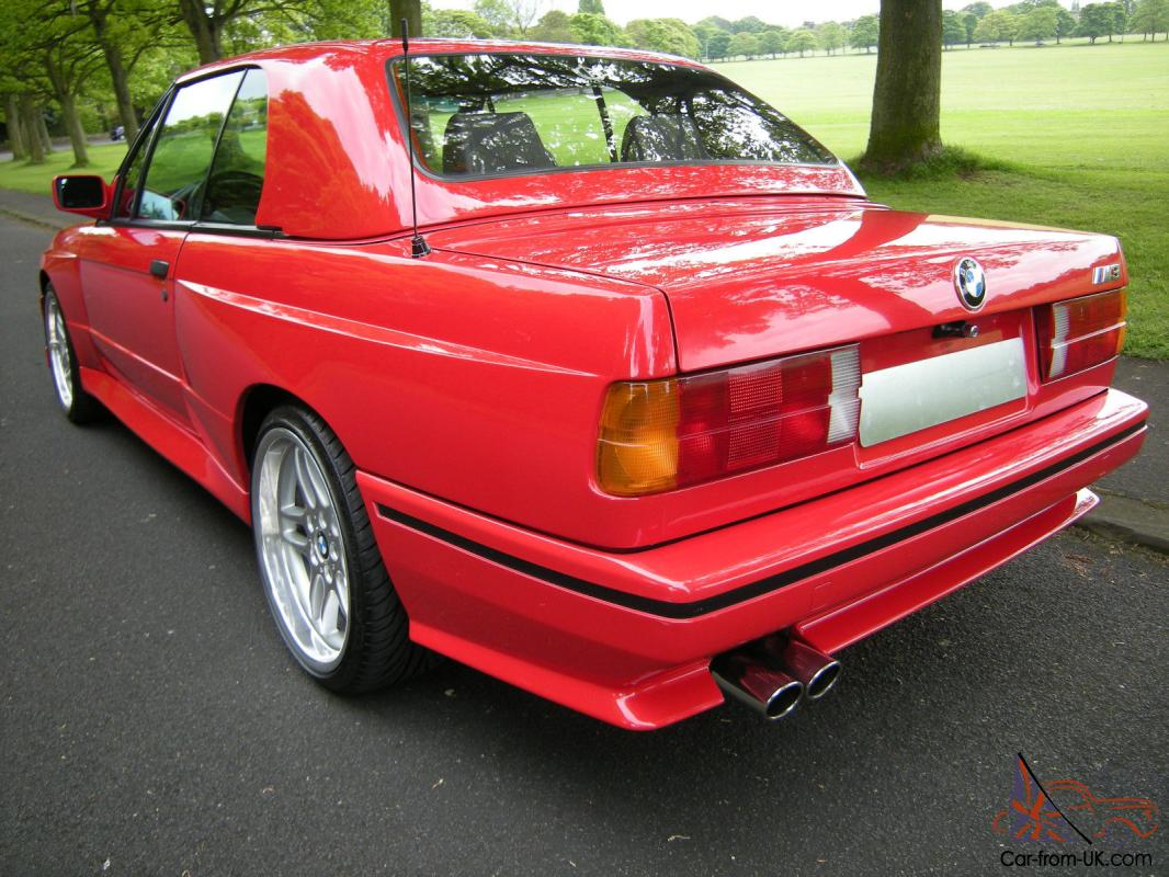 Bmw E30 M3 Convertible Cabriolet Very Rare Car With Hard Top