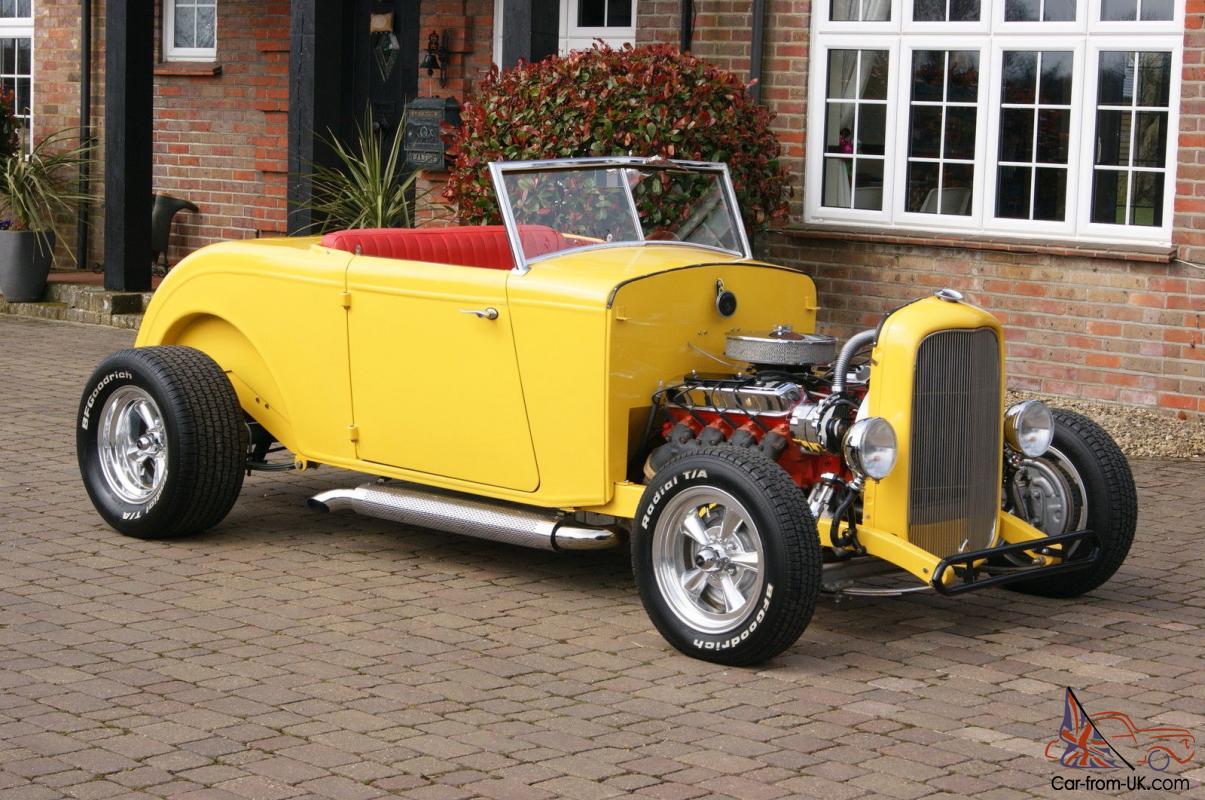 1932 Ford Hi Boy Roadster All Steel New Build Hot Rod