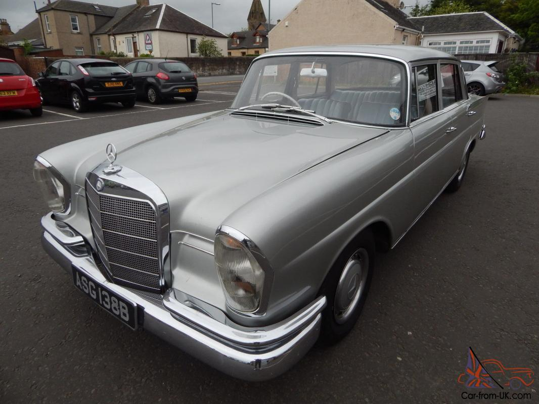 Mercedes 220s 5 6 v8 Fintail Conversion LOOK@@@@@@@@@@@@@@
