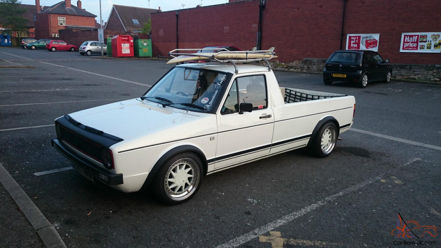 Vw Caddy Mk1 Pick Up