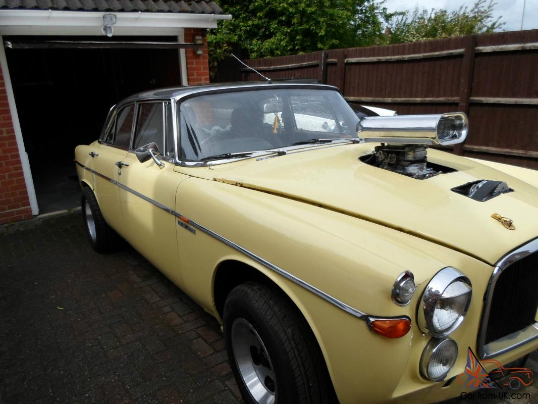 Toyota Of Colchester >> Hot Rod - Rover P5 - V8