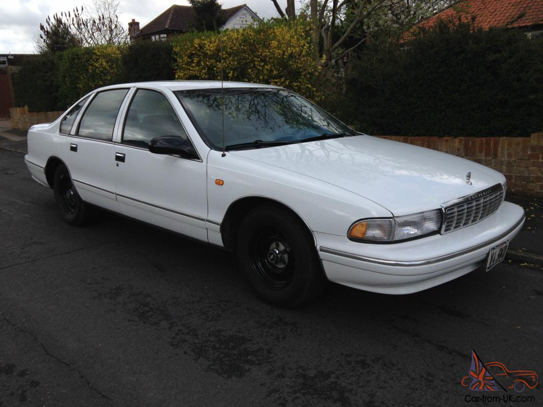 All Chevy 1996 chevrolet caprice wagon : CHEVROLET CAPRICE CLASSIC V8 LHD impala buick oldsmobile crown ...
