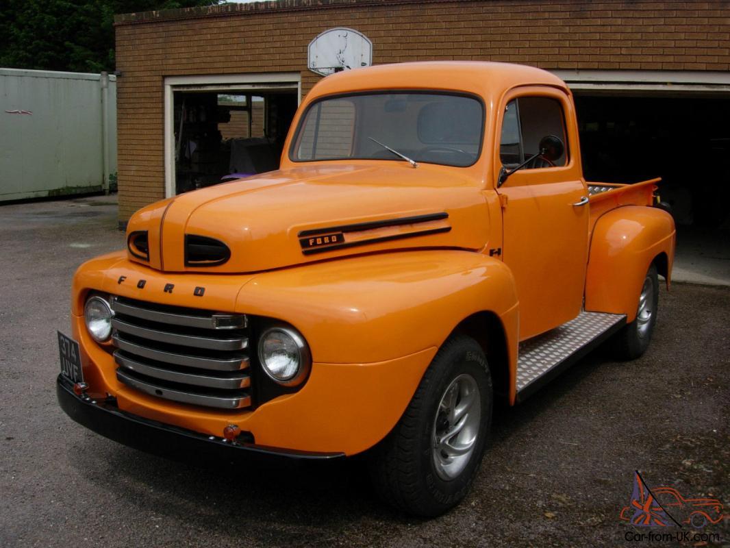 1948 Ford F1 Stepside Pickup Truck Restored  Very Nice