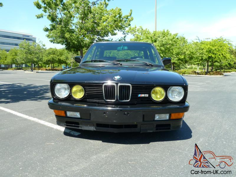 88 M5 with S54 Motor from E46 M3