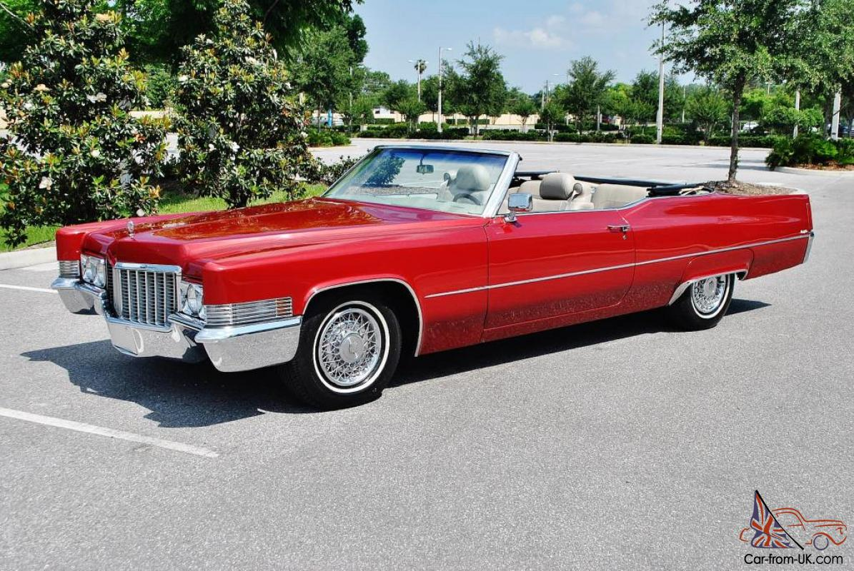 BEST 70 CADILLAC CONV IN U.S MUST BE SEEN