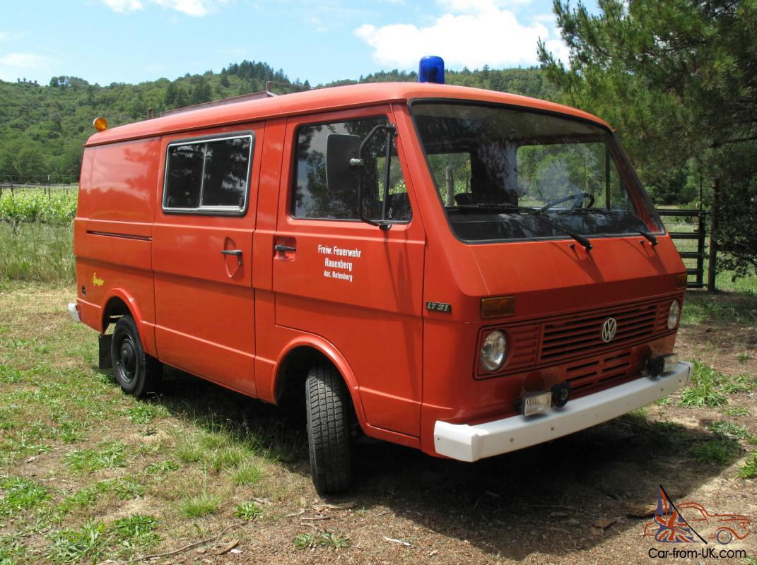 Rare 1980 Vw Van Transporter Lt 31