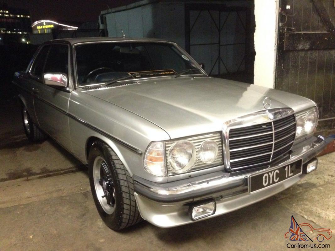 1983 Mercedes Benz 280 CE W123 5 0 V8 Conversion W126 M117 Coupe Fast
