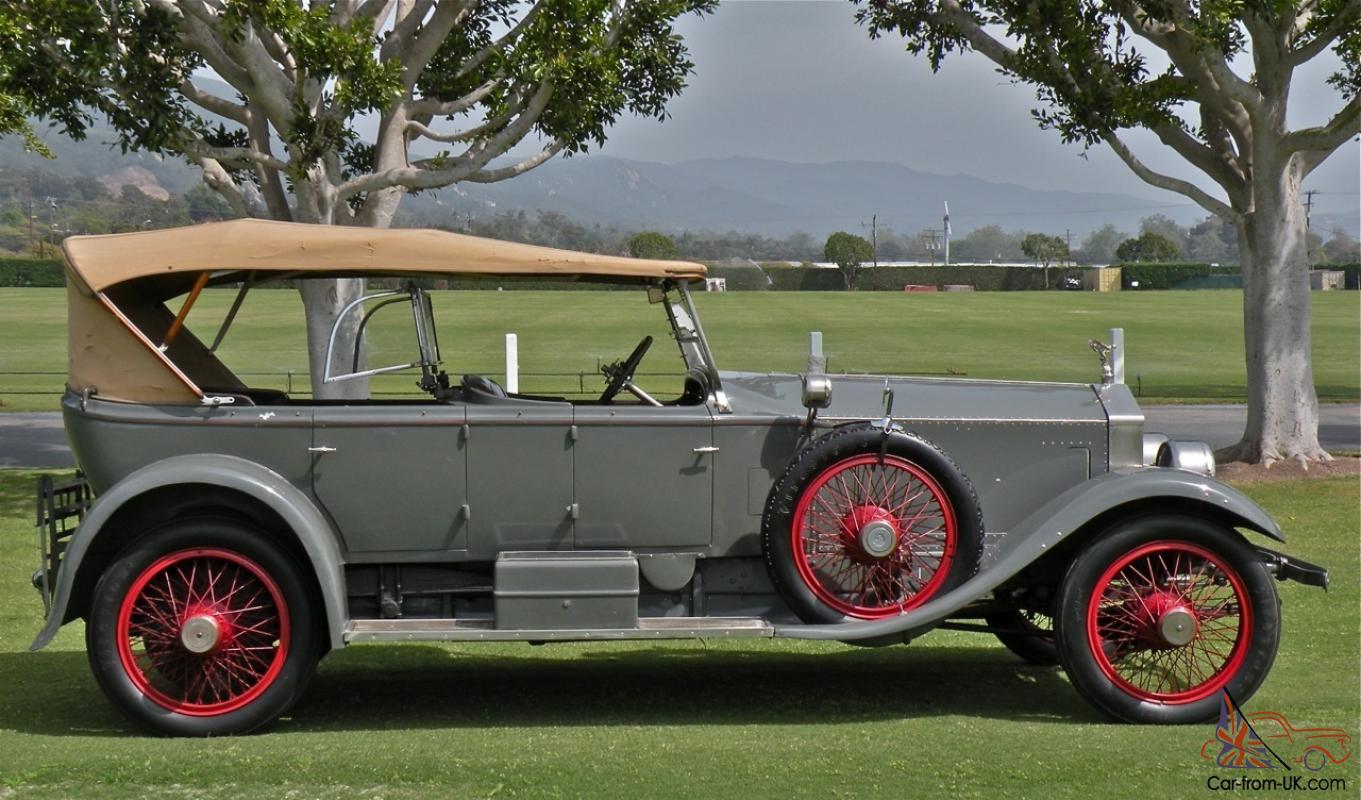 1920 Rolls-Royce Silver Ghost Pall Mall Dual Windscreen Tourer