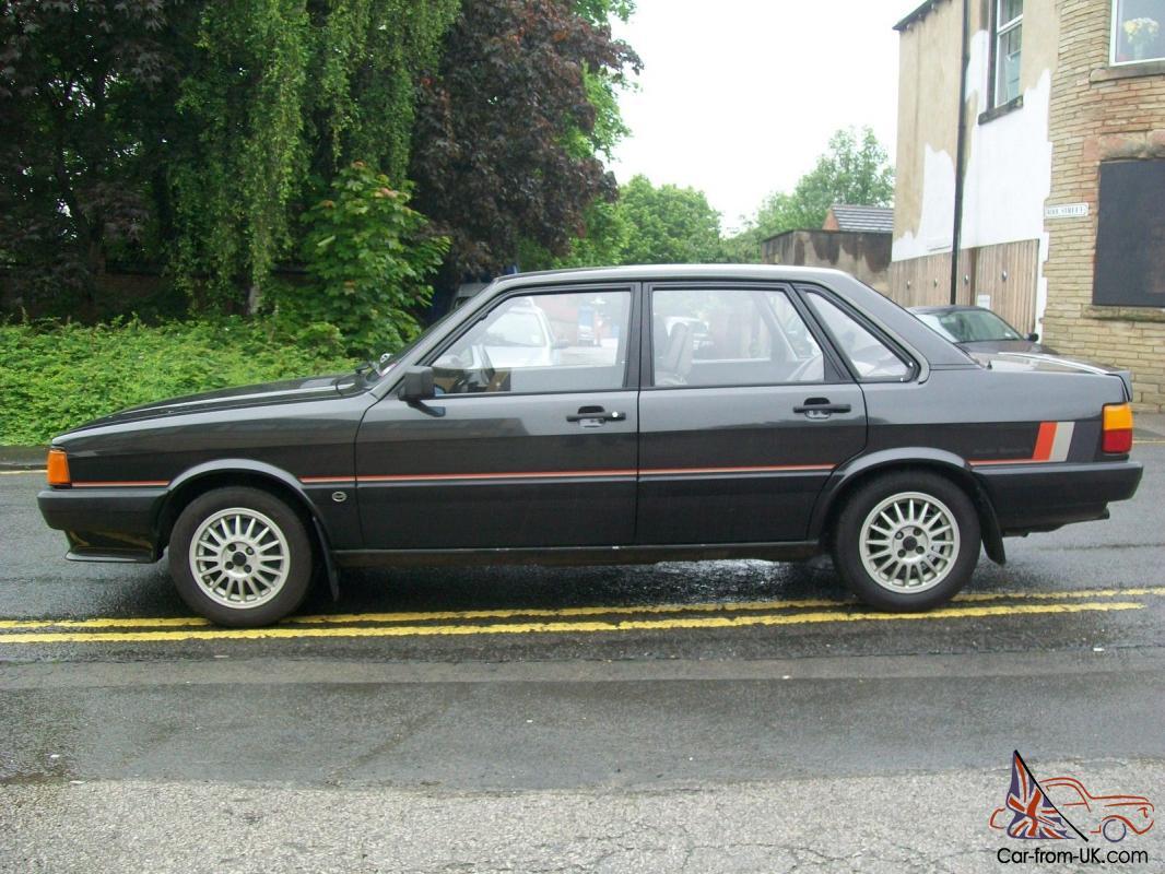 CLASSIC 1985 AUDI 80 SPORT