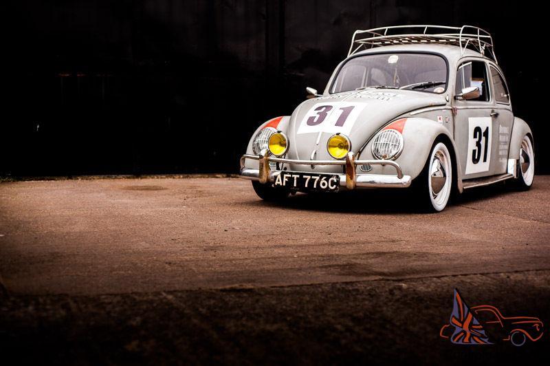 volkswagen beetle  brundage rally car tribute