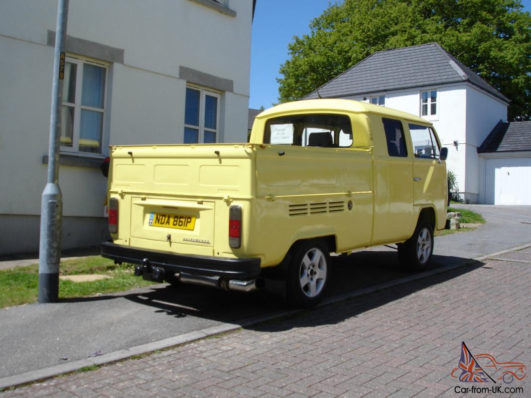 1975 Vw Type 2 T2 Bay Window Double Crew Cab Crewcab
