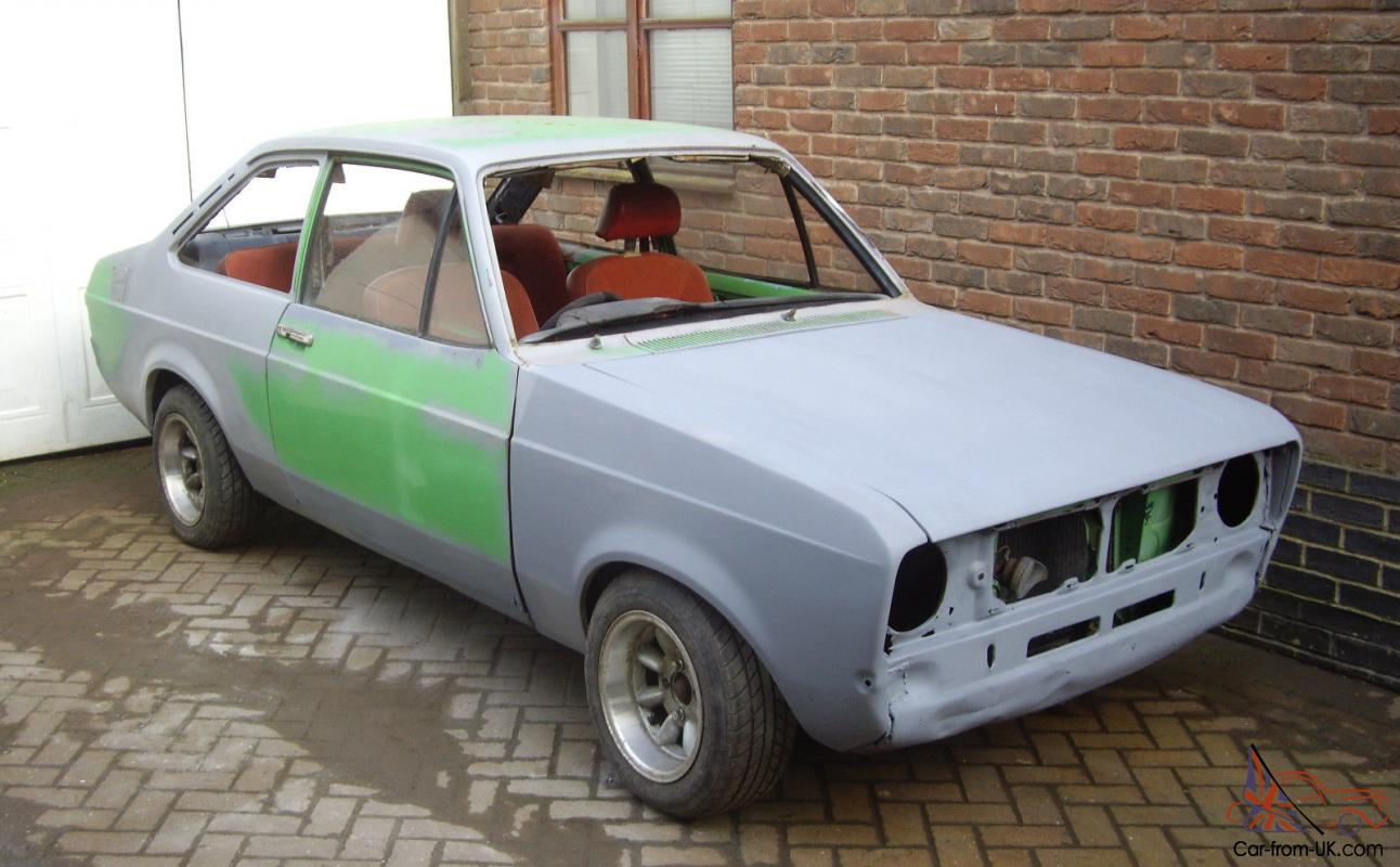 Ford Escort Mk2 Partly Restored Project 1600 2 Door