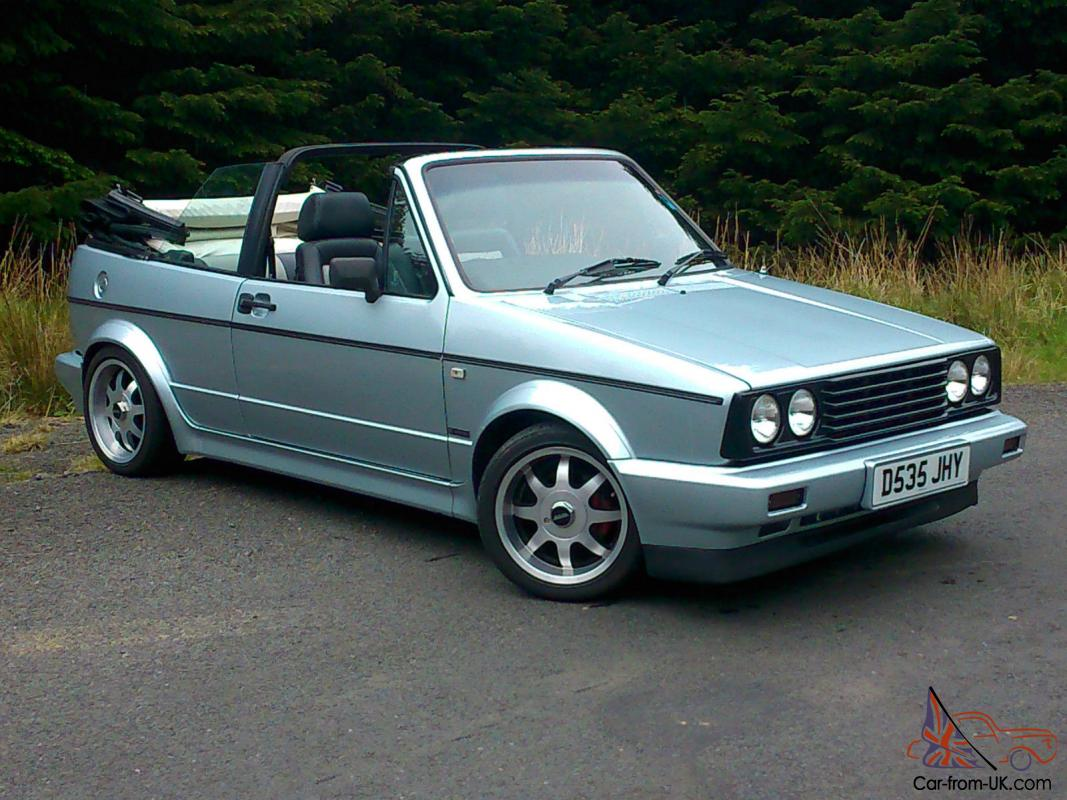 Vw Mk1 Golf Cabriolet Convertible Gti Not Sportline G60 16v Zender Campaign