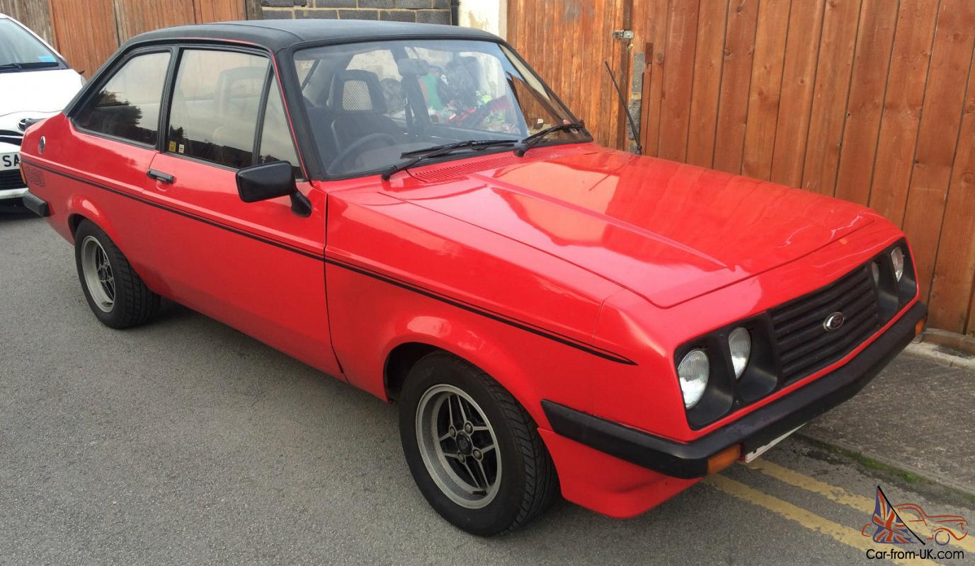 What To Do With Expired Car Seats >> 1980 FORD ESCORT MK2 RS2000 CUSTOM
