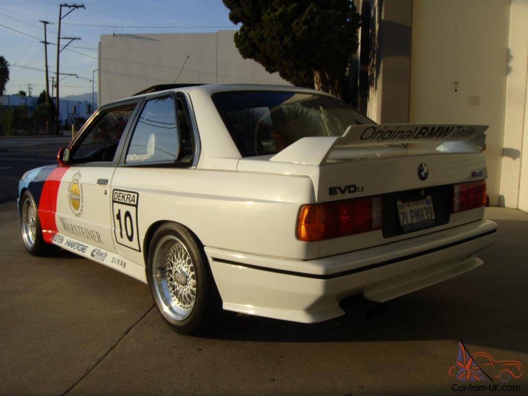 1988 Bmw M3 E30 2 5 Stroked Dinan Kit Evo Parts 1 Owner 104k Bbs