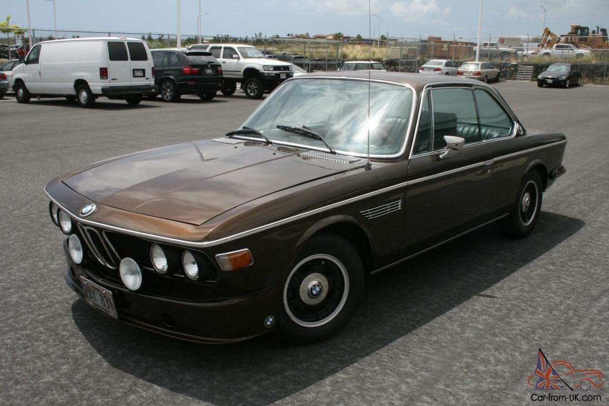 Bmw 3.0 Cs For Sale >> 1973 Bmw 3 0 Cs E9 Sunroof Coupe