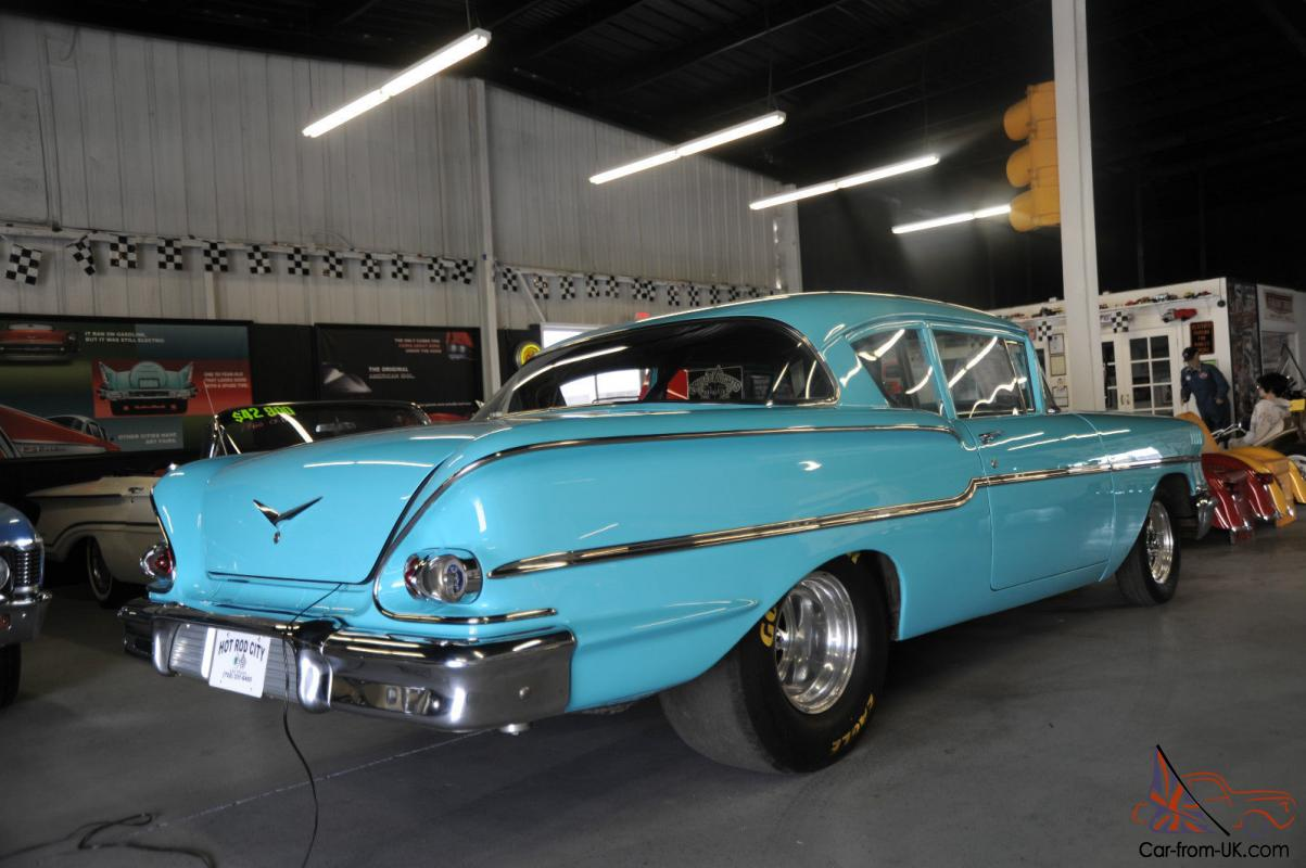 All Chevy 1958 chevy delray for sale : Chevy Delray PRO STREET 11 Second Qtr Mile Muscle Car !!!