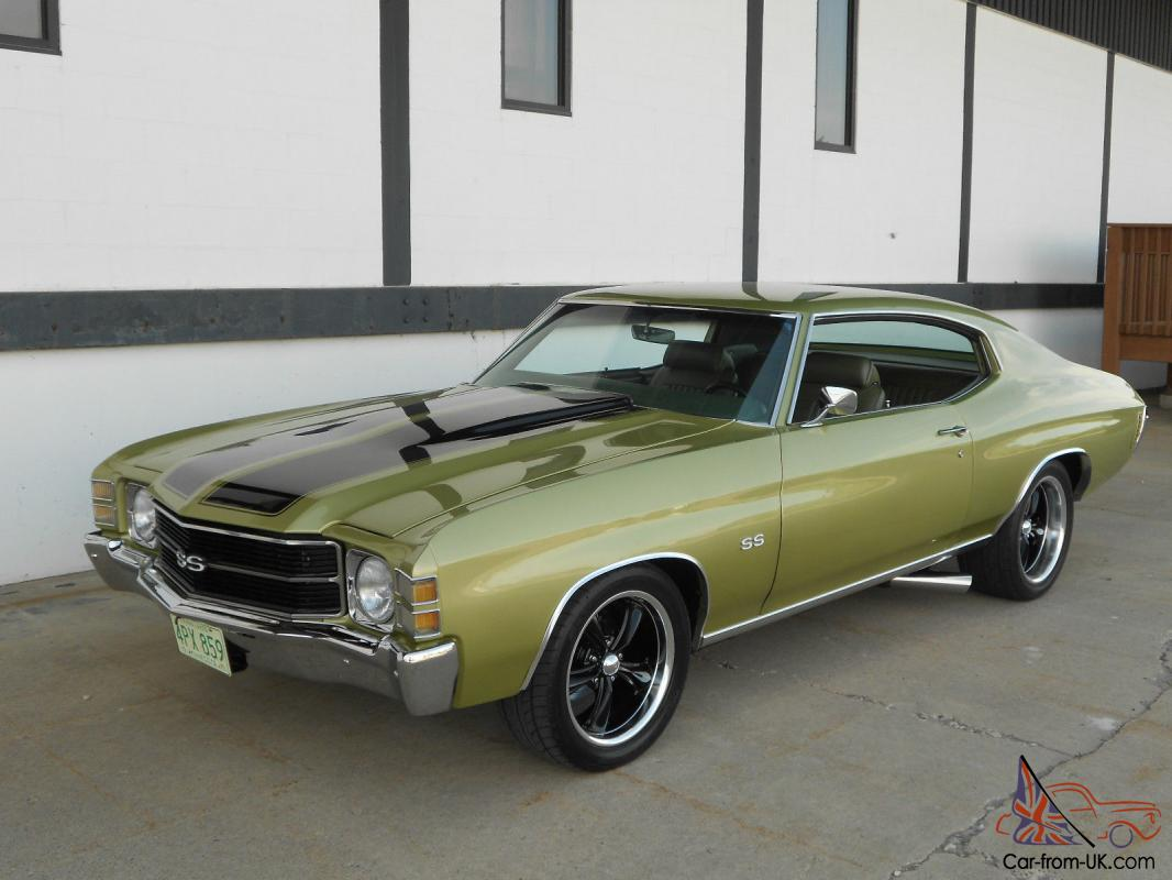 All Chevy 1971 chevrolet chevelle ss : Chevrolet Chevelle SS, 700HP Frame off nut and bolt built resto mod