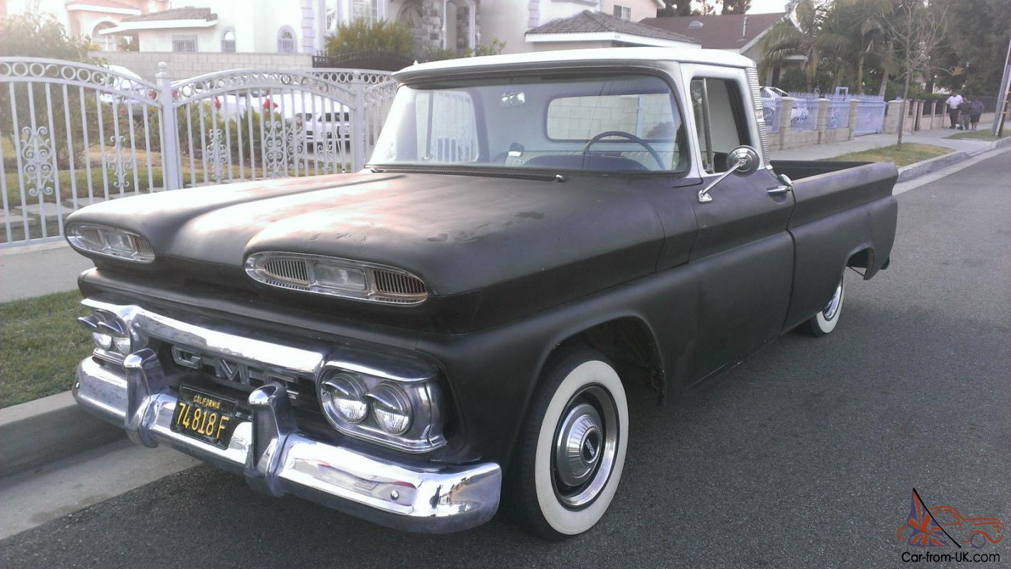 Truck 1963 chevy panel truck for sale : GMC TRUCK RAT ROD BAGGED AIR BAGS 1960 1961 1962 1963 1964 1965 ...