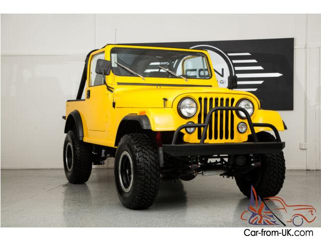 Custom Jeeps For Sale >> Jeep Cj7 Custom Fully Restored Wrangler All Work Just Done