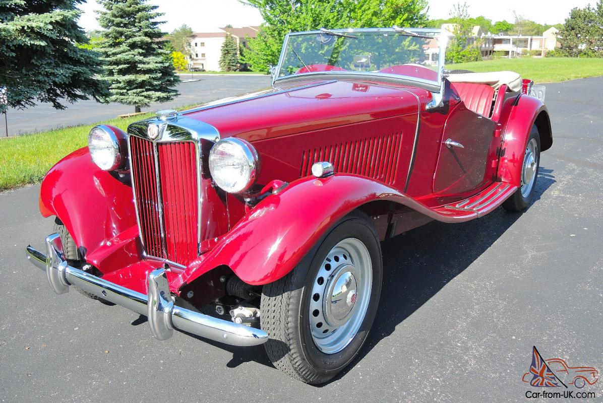 1952 MG TD MKII Very Rare Supercharged! Concours Restoration, Spectacular!
