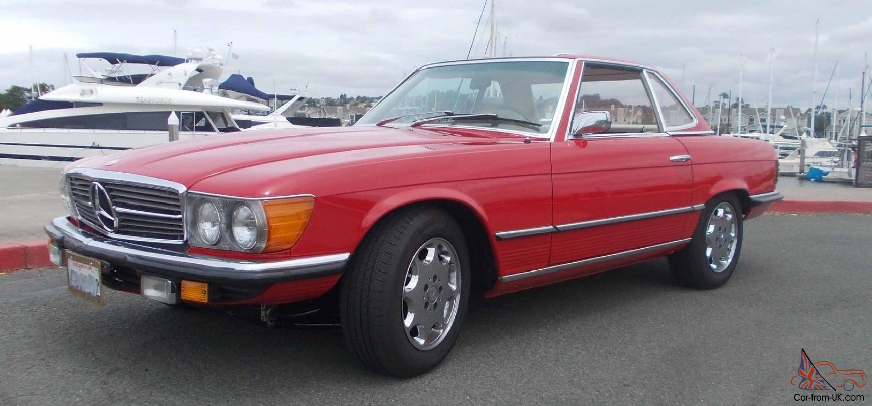 1973 BENZ / VETTE --- 450SL Mercedes with LS1 Corvette Engine
