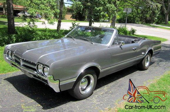 1966 Oldsmobile Cutlass Convertible Rebuilt Motor New Interior and Top No  Resere
