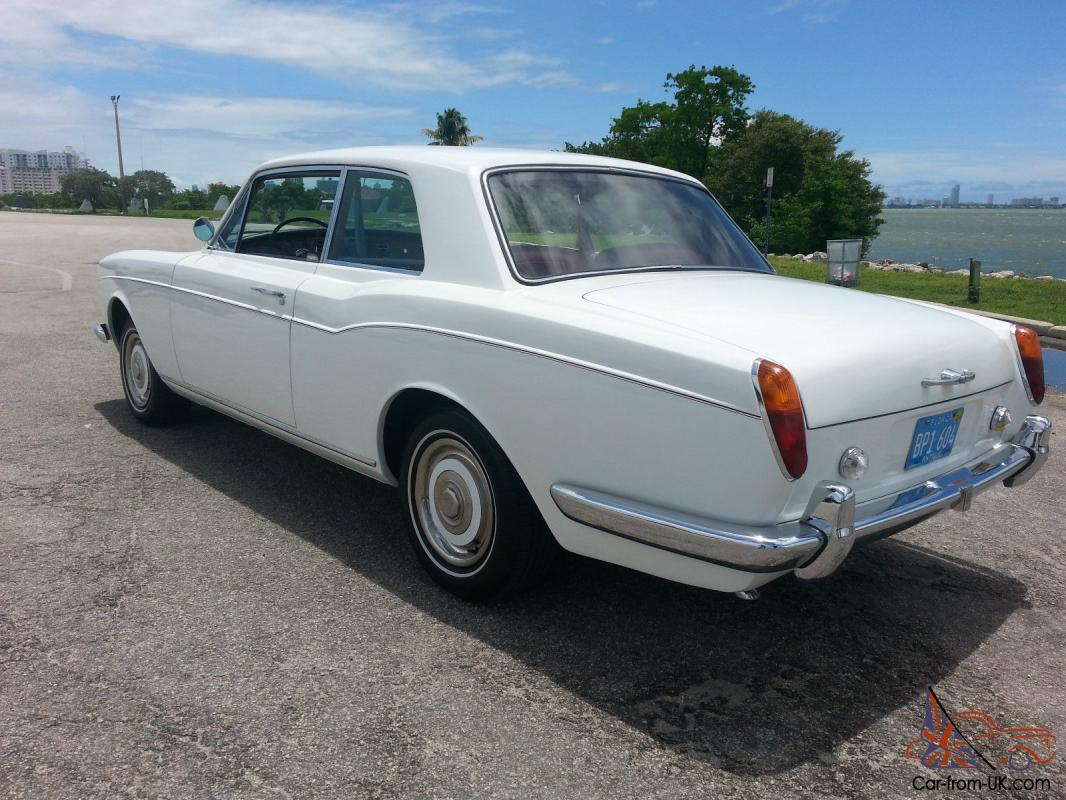 1967 Rolls Royce Silver Shadow Coupe Mulliner
